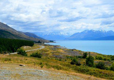 Peter's Lookout, Lake Pukaki, New Zealand